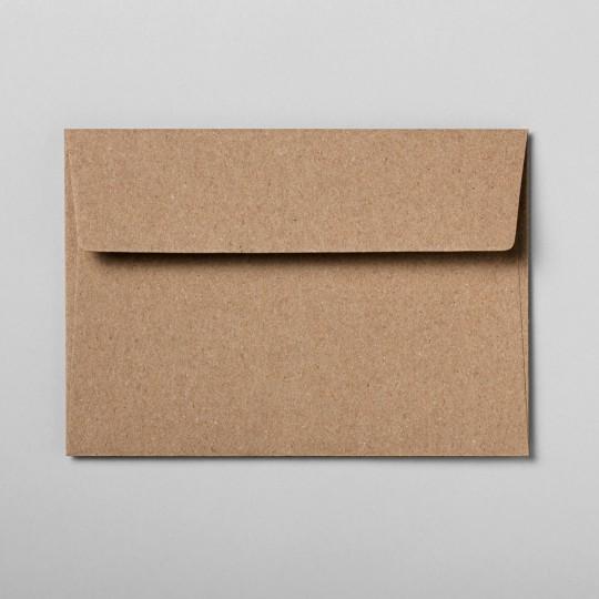 Briefumschlag braun DIN C6