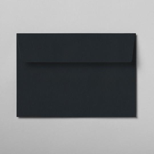 Briefumschlag schwarz DIN C6