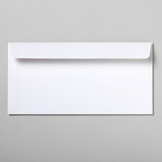 Briefumschlag polarweiß DIN lang