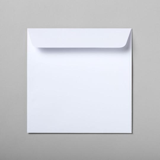 Briefumschlag weiss quadratisch